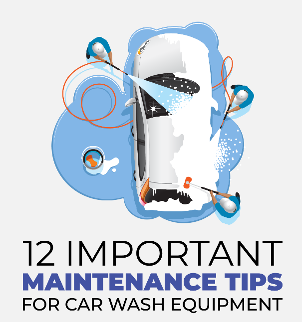 Maintenance Tips for Car Wash Equipment Infographic