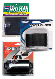 Car Toll Pass and Coin Holders