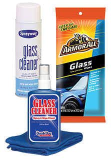 Vending Glass Cleaners