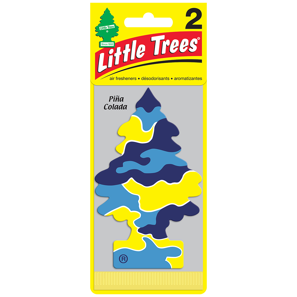 Little Tree Air Freshener 2 Pack - Pina Colada CASE PACK 12