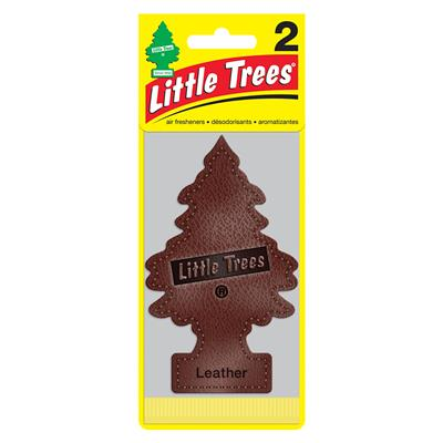 Little Tree Air Freshener 2 Pack - Leather