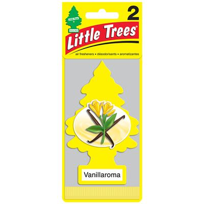 Little Tree Air Freshener 2 Pack - Vanilla