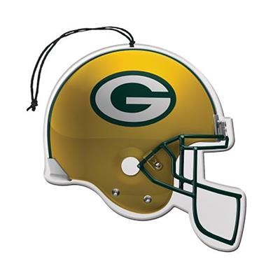 Sports Team Paper Air Freshener 3 Pack - Green Bay Packers