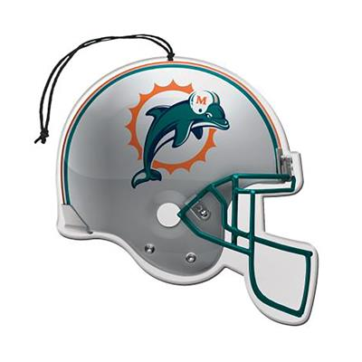 Sports Team Paper Air Freshener 3 Pack - Miami Dolphins CASE PACK 8