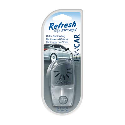 Refresh Auto Oil Wick Vent Air Freshener - New Car
