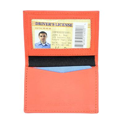 Deluxe Leather I.D. Wallet