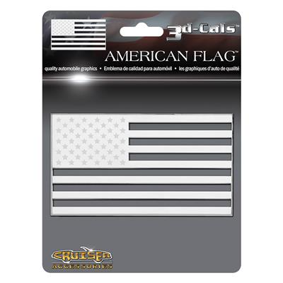 American Flag 3D Decal CASE PACK 12