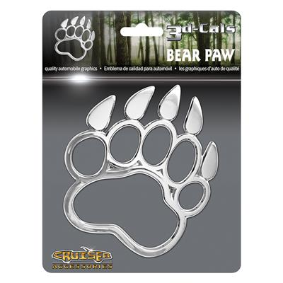 Bear Paw 3D Decal CASE PACK 12