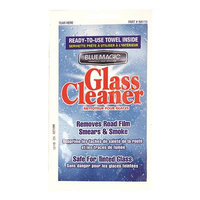Blue Magic Glass Cleaner Towelette