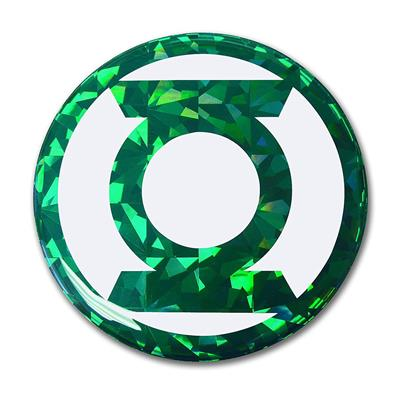 Reflective Comic Decal - Green Lantern