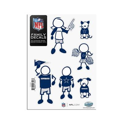 Dallas Cowboys - Family Decal