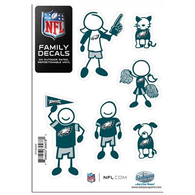 Family Car Decals - Philadelphia Eagles