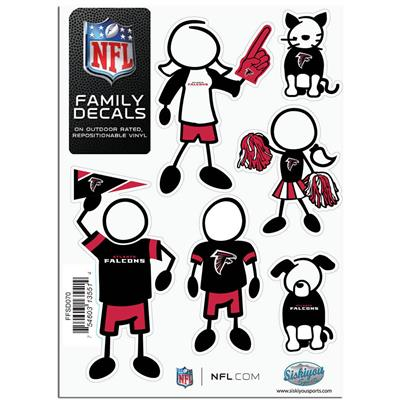 Family Car Decals - Atlanta Falcons