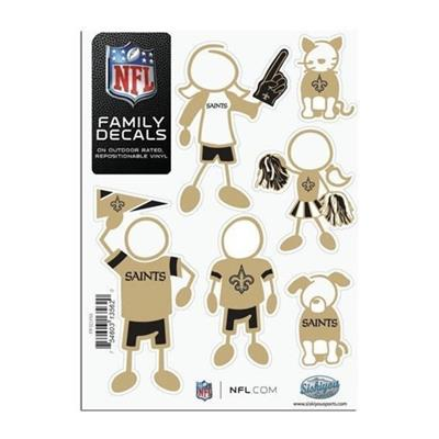 Family Car Decals - New Orleans Saints