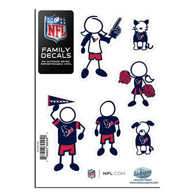 Family Car Decals - Houston Texans