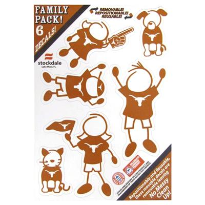 Family Car Decals - Texas